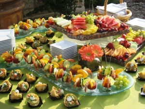 Food shown may not represent exact food at the event